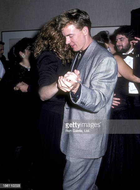 Actors Kelly McGillis and Barry Tubb attend 'Light the Night' Gala to Honor a Group of Young Community Gardeners from North Harlem on October 25 1986...