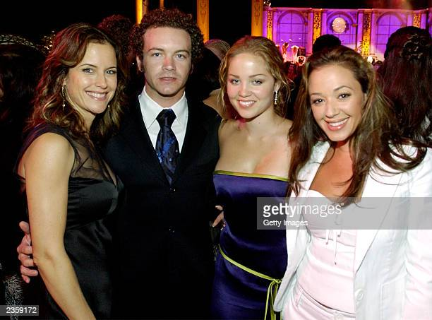 Actors Kelly Preston Danny Masterson Ericka Christensen and Leah Remini attend the Church of Scientology Celebrity Centre's 34th Annual Anniversary...