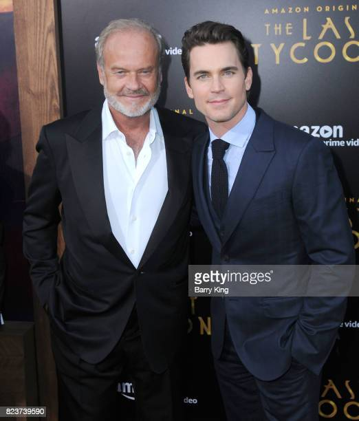 Actors Kelsey Grammer and Matt Bomer attend the premiere of Amazon Studios' 'The Last Tycoon' at the Harmony Gold Preview House and Theater on July...