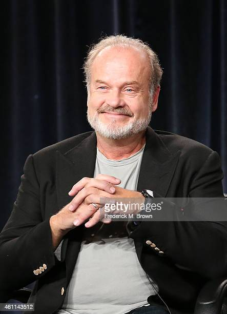 Actors Kelsey Grammer speaks onstage during the National Geographic's 'Killing Jesus' panel at the 2015 Winter Television Critics Association press...