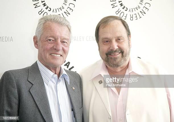 "Actors Ken Osmond & Frank Bank arrive at the Paley Center for Media's PaleyFest: Rewind - ""Leave It To Beaver"" at The Paley Center for Media on June..."