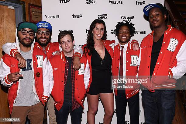 Actors Kenny Lucas, Keith Lucas, Josh Rabinowitz, Jennifer Bartels, Jermaine Fowler and Kevin Barnett attend NYMag, Vulture + TruTV celebrate the...
