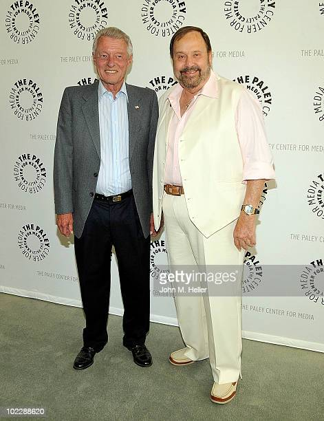 Actors Kens Osmond and Frank Bank attend the Rewind 2010 Leave It To Beaver presented by the PaleyFest at the Paley Center For Media in Beverly Hills...