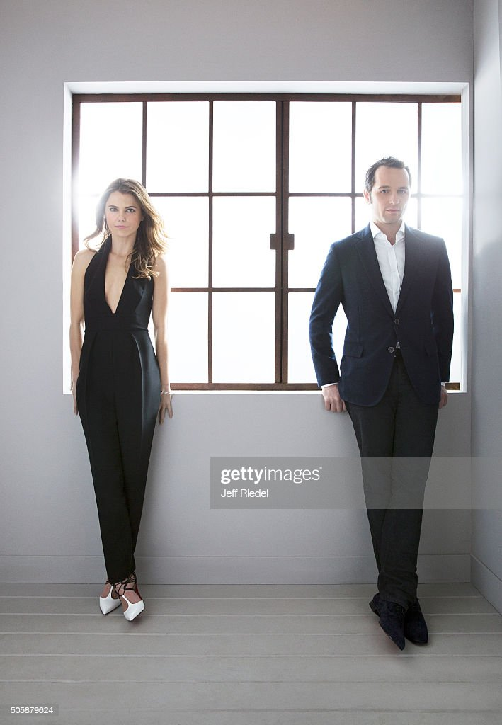 Keri Russell and Matthew Rhys, TV Guide Magazine, January 17, 2015