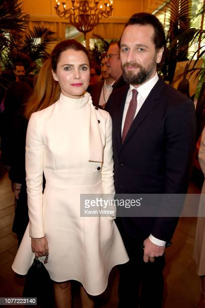 Actors Keri Russell and Matthew Rhys attend the 19th Annual AFI Awards at Four Seasons Hotel Los Angeles at Beverly Hills on January 4 2019 in Los...