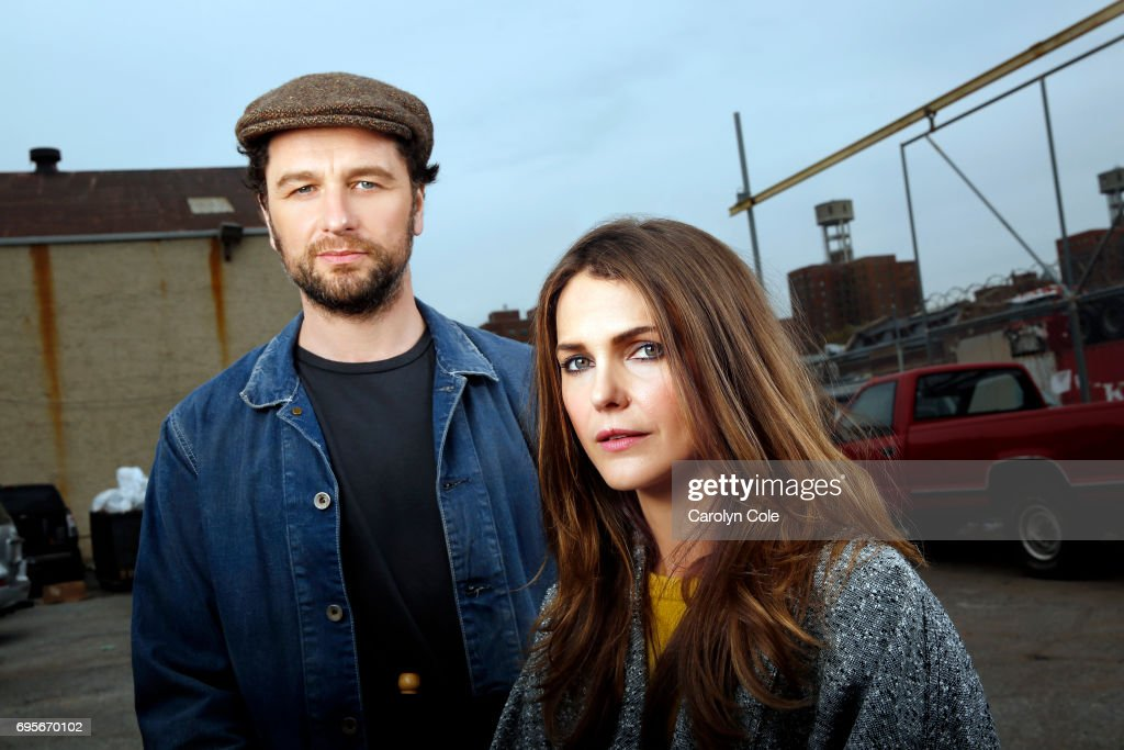Actors Keri Russell, Matthew Rhys are photographed for Los Angeles Times on April 24, 2017 in New York City. PUBLISHED IMAGE.