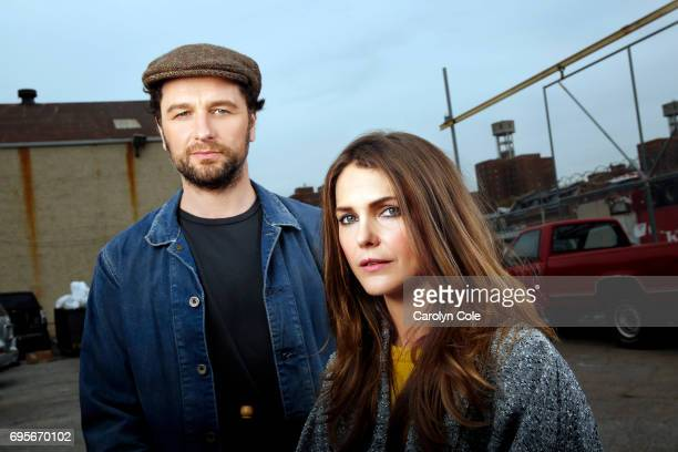 Actors Keri Russell Matthew Rhys are photographed for Los Angeles Times on April 24 2017 in New York City PUBLISHED IMAGE CREDIT MUST READ Carolyn...