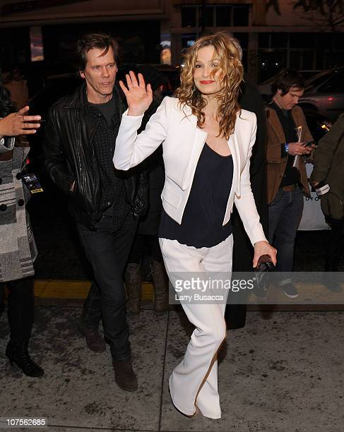 Actors Kevin Bacon and Kyra Sedgwick attend Paul McCartney plays World Famous Apollo Theater for first time celebrating 20 Million Sirius XM...