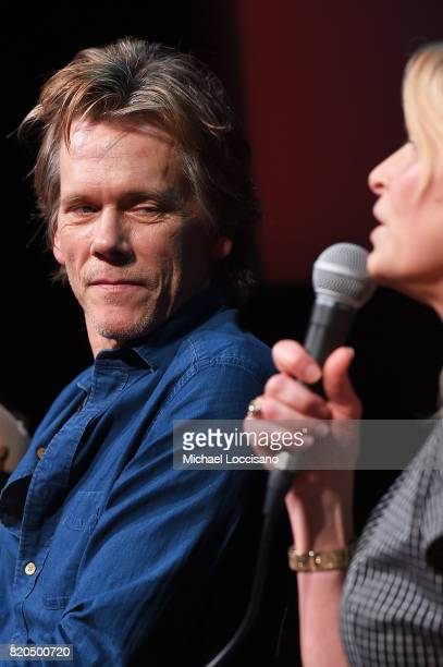 Actors Kevin Bacon and Kyra Sedgwick take part in SAGAFTRA Foundation Conversations Story Of A Girl at SAGAFTRA Foundation Robin Williams Center on...