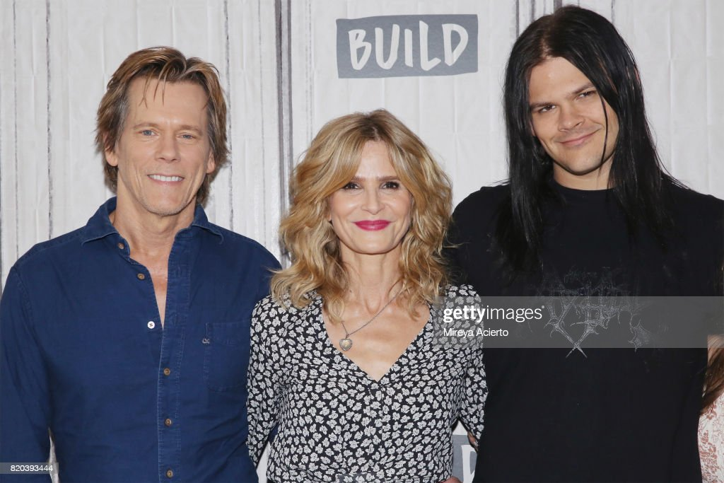 """Build Presents Kyra Sedgwick, Kevin Bacon and Ryann Shane Previewing The New Lifetime Film """"Story of a Girl"""" : News Photo"""