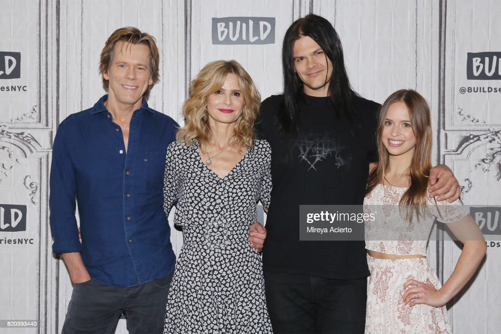 "Build Presents Kyra Sedgwick, Kevin Bacon and Ryann Shane Previewing The New Lifetime Film ""Story of a Girl"" : News Photo"