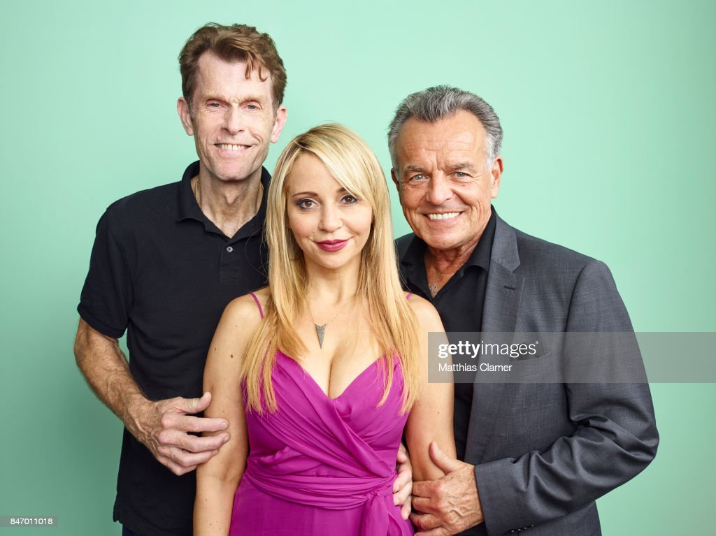 Actors Kevin Conroy, Tara Strong and Ray Wise from 'Batman: The Killing Joke' are photographed for Entertainment Weekly Magazine on July 22, 2016 at Comic Con in the Hard Rock Hotel in San Diego, California.