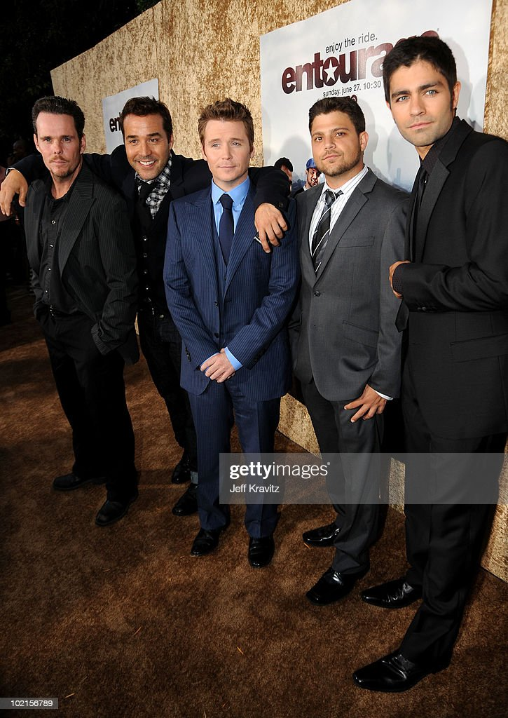 "HBO's ""Entourage"" Season 7 Premiere - Red Carpet : News Photo"