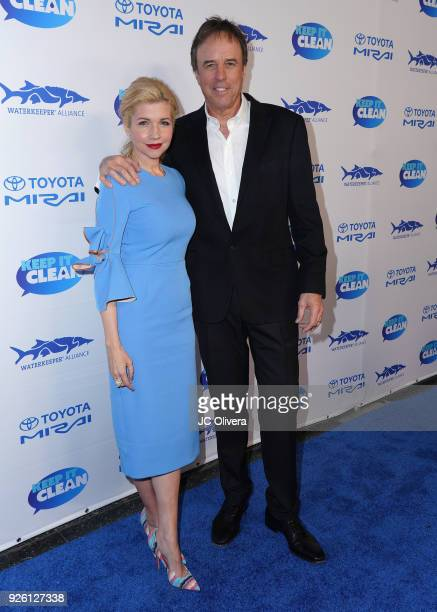 Actors Kevin Nealon and Susan Yeagley attend Keep It Clean Live Comedy Benefit for Waterkeeper Alliance at Avalon on March 1 2018 in Hollywood...