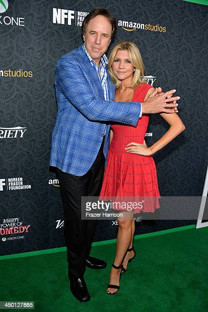 Actors Kevin Nealon and Susan Yeagley attend Variety's 4th Annual Power of Comedy presented by Xbox One benefiting the Noreen Fraser Foundation at...