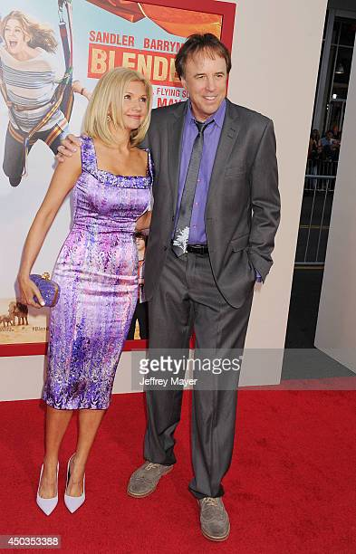 Actors Kevin Nealon and wife Susan Yeagley arrive at the Los Angeles premiere of 'Blended' at TCL Chinese Theatre on May 21 2014 in Hollywood...