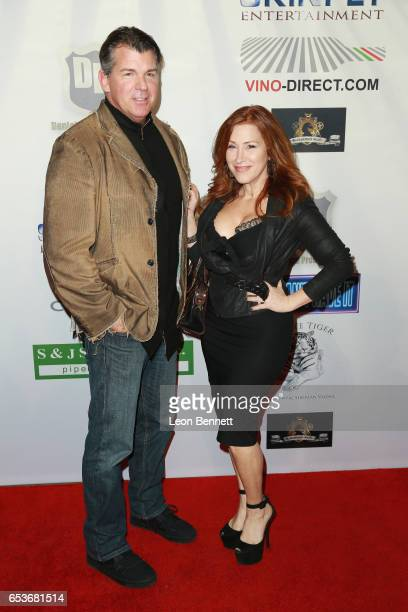"""Actors Kevin Porter and Lisa Ann Walter arrives at the Premiere Of Skinfly Entertainment's """"You Can't Have It"""" at TCL Chinese Theatre on March 15,..."""