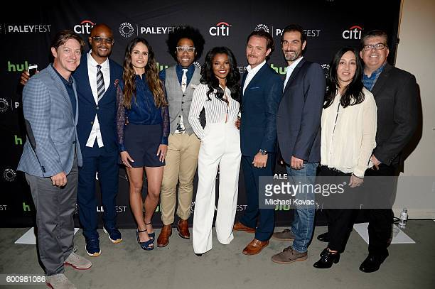 Actors Kevin Rahm Damon Wayans Sr Jordana Brewster Johnathan Fernandez Keesha Sharp Clayne Crawford executive producers Jennifer Gwartz and Matt...