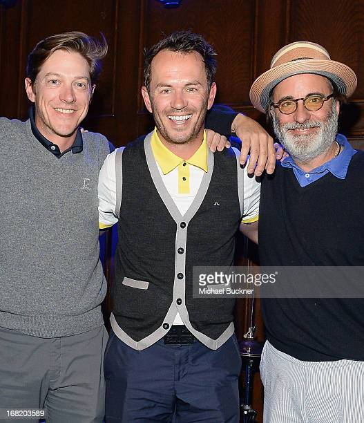 Actors Kevin Rahm Greg Ellis and Andy Garcia attend The 6th Annual George Lopez Celebrity Golf Classic To Benefit The Lopez Foundation at Lakeside...