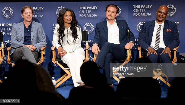Actors Kevin Rahm Keesha Sharp Clayne Crawford and Damon Wayans Sr at The Paley Center for Media's 10th Annual PaleyFest Fall TV Previews honoring...
