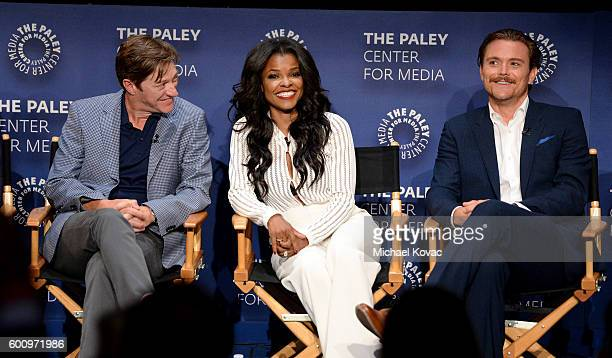 Actors Kevin Rahm Keesha Sharp Clayne Crawford at The Paley Center for Media's 10th Annual PaleyFest Fall TV Previews honoring FOX's Lethal Weapon at...