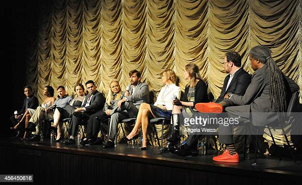 Actors Kevin Zegers Jessica Lucas Kevin Rankin Virginia Kull Michael Pena Jacki Weaver David Tennant Anna Gunn executive producer Anya Epstein...