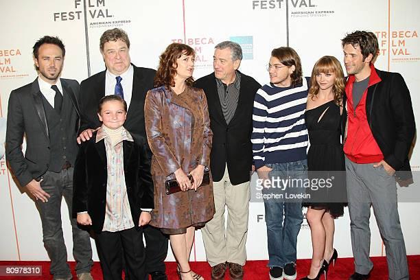 Actors Kick Gurry, John Goodman, Paulie Litt, Susan Sarandon, Robert De Niro, Emile Hirsch, Christina Ricci and Christian Oliver attend the premiere...