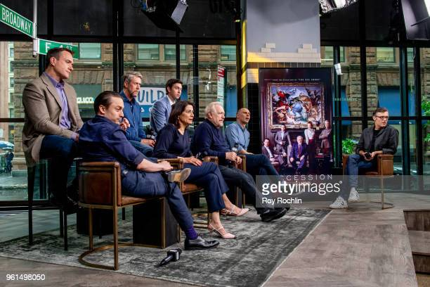 Actors Kieran Culkin Matthew Macfadyen Hiam Abbass Alan Ruck Brian Cox Nicholas Braun and writer/director Jesse Armstrong discuss Succession with the...