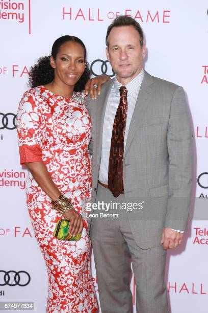 Actors Kira Arne and Tom Verica attends the Television Academy's 24th Hall Of Fame Ceremony at Saban Media Center on November 15 2017 in North...