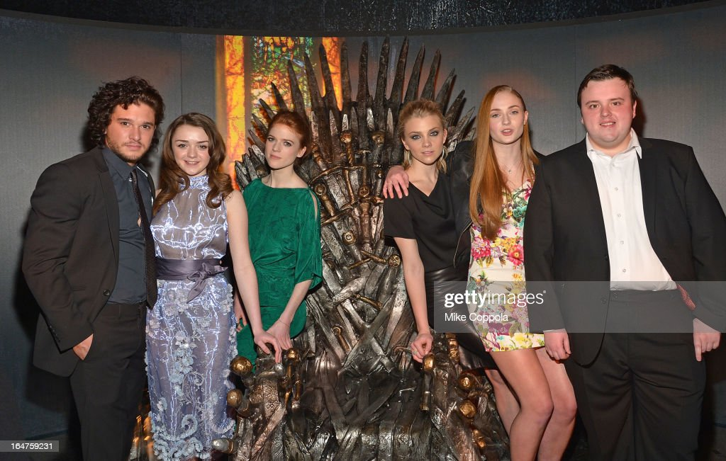 """""""Game Of Thrones"""" The Exhibition New York Opening - Inside : News Photo"""