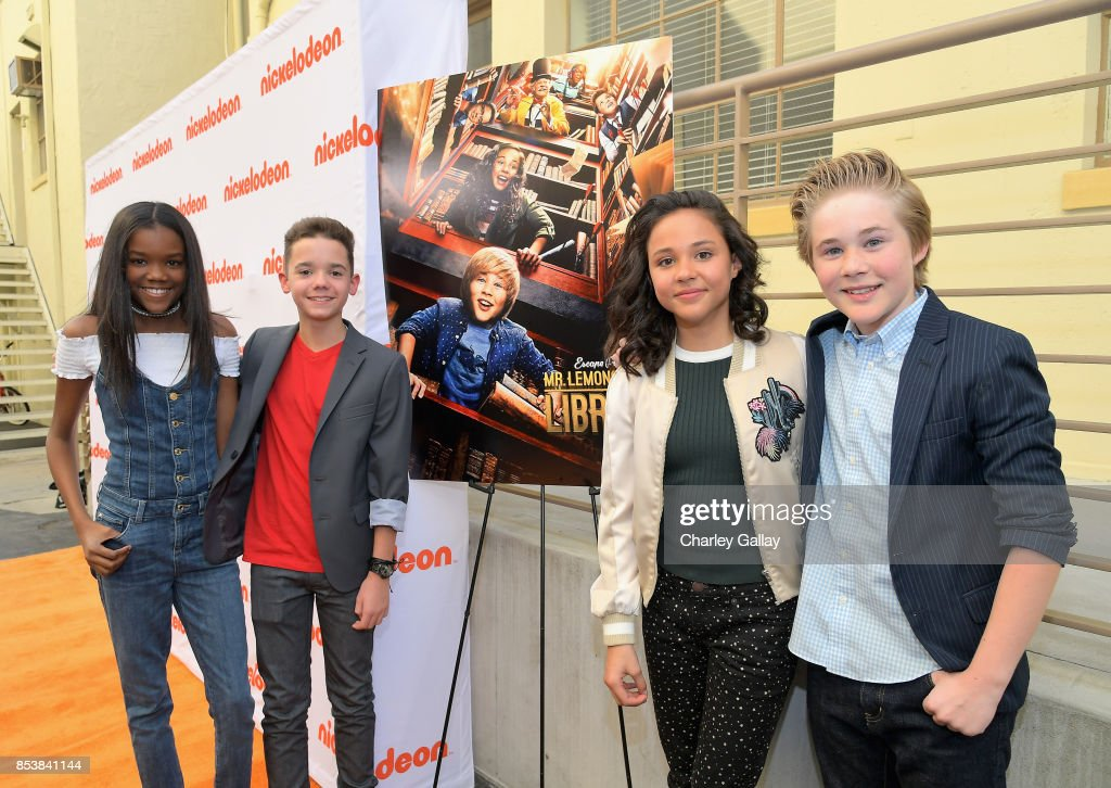 Nickelodeon's 'Escape From Mr. Lemoncello's Library' premiere event at Paramount Studios in Hollywood