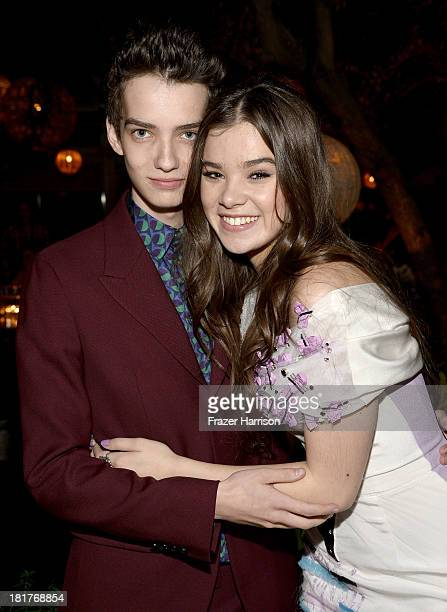 Actors Kodi SmitMcPhee and Hailee Steinfeld attend the premiere of Relativity Media's Romeo And Juliet after party at Soho House on September 24 2013...