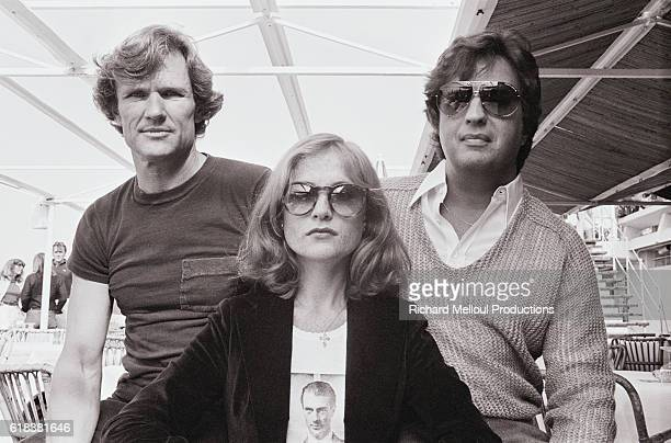 Actors Kris Kristofferson and Isabelle Huppert star in director Michael Cimino's 1980 film Heaven's Gate The film also starred Christopher Walken...