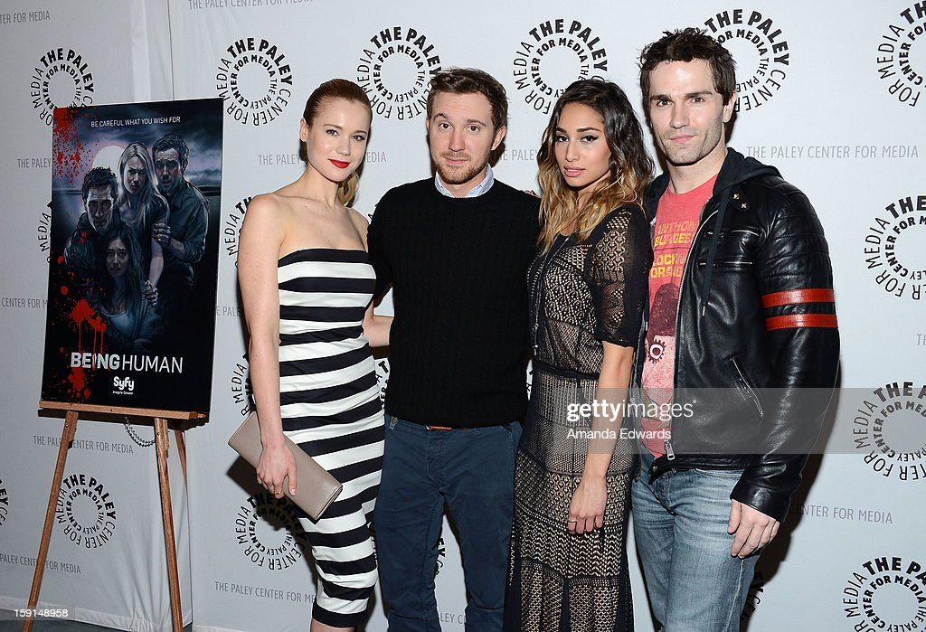 """The Paley Center For Media Presents An Evening With Syfy's """"Being Human"""" Season 3 Premiere Screening And Panel : News Photo"""