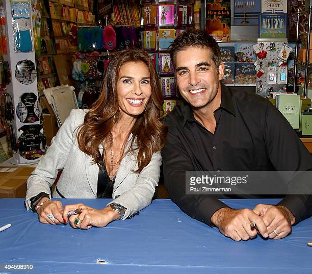 Actors Kristian Alfonso and Galen Gering attend 'Days Of Our Lives' Book Signing Books And Greetings In Northvale NJ on October 27 2015 in Northvale...