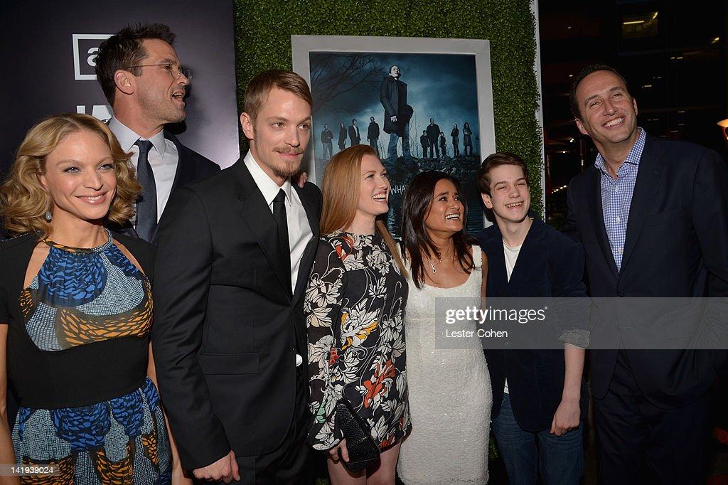 "AMC's ""The Killing"" Season 2 Los Angeles Premiere - Red Carpet : News Photo"