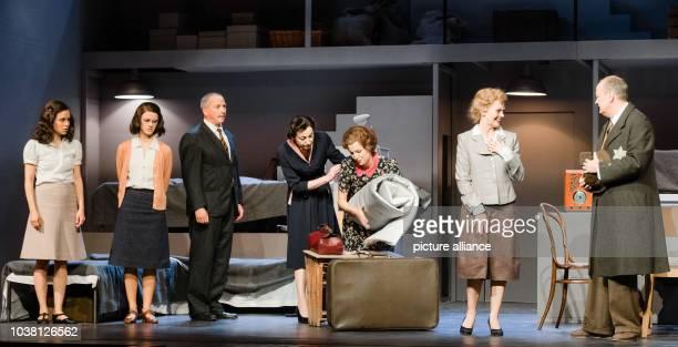 Actors Kristin Suckow as Anne Frank Christina Arndt as Margot Frank Frank Jordan as Otto Frank Isabella VertesSchuetter as Edith Frank Sina Maria...
