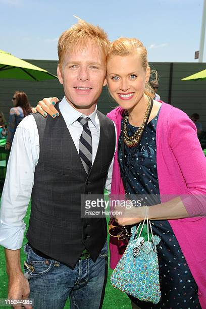 Actors Kristoffer Ryan Winters and Janet Varney attend the after party for the premiere of Relativity Media's Judy Moody And The NOT Bummer Summer...