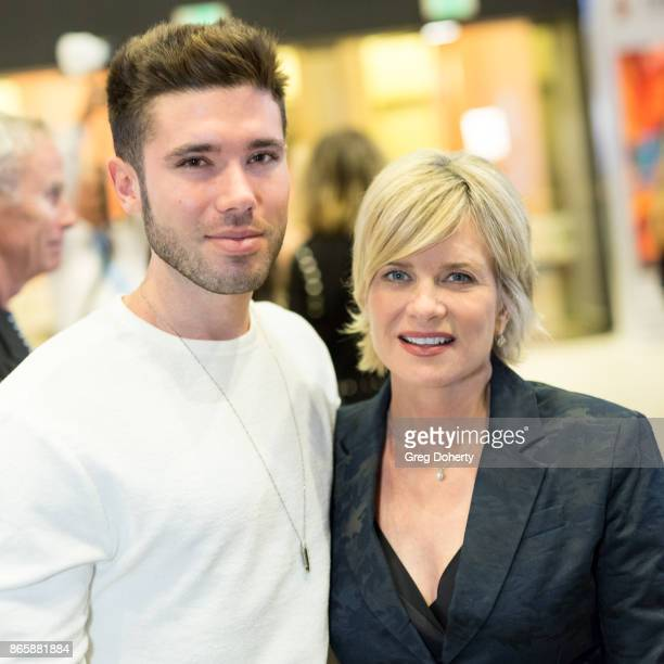 Actors Kristos Andrews and Mary Beth Evans attend the Cast Premiere Screening Of Lany Entertainment's The Bay Season 3 at TCL Chinese Theatre on...