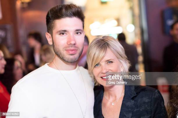 Actors Kristos Andrews and Mary Beth Evans attend the Cast Premiere Screening Of Lany Entertainment's 'The Bay' Season 3 After Party at 33 Taps...