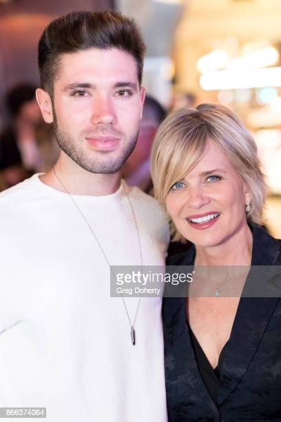Actors Kristos Andrews and Mary Beth Evans attend the Cast Premiere Screening Of Lany Entertainment's The Bay Season 3 After Party at 33 Taps...