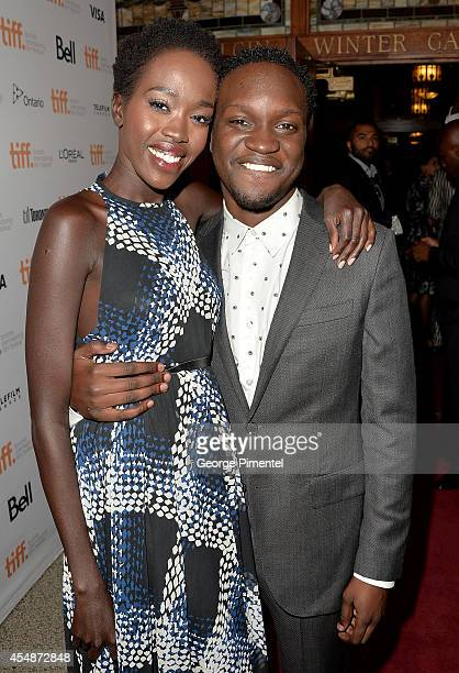 Actors Kuoth Wiel and Arnold Oceng attend The Good Lie premiere during the 2014 Toronto International Film Festival at The Elgin on September 7 2014...