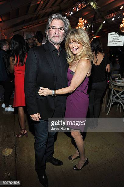 Actors Kurt Russell and Goldie Hawn attend william's iamangel Foundation TRANS4M 2016 Gala at Milk Studios on February 11 2016 in Hollywood California
