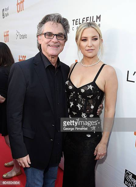 Actors Kurt Russell and Kate Hudson attend the Deepwater Horizon premiere during the 2016 Toronto International Film Festival at Roy Thomson Hall on...