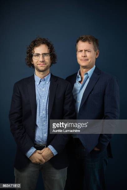 Actors Kyle Mooney and Dave McCary are photographed for Self Assignment on May 20 2017 in Cannes France