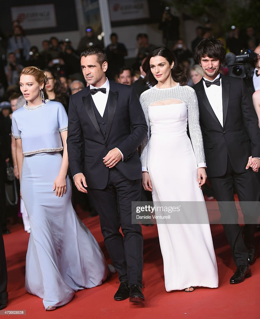 Actors Léa Seydoux, Colin Farrell, Rachel Weisz and Ben Whishaw attend the 'Lobster' Premiere during the 68th annual Cannes Film Festival on May 15, 2015 in Cannes, France.