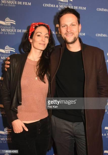 Actors Laetitia Eido and Pierre Rochefort attend the Awards Ceremony at Palais des Congres of La Baule as part of Cinema Et Musique De Film 2019...