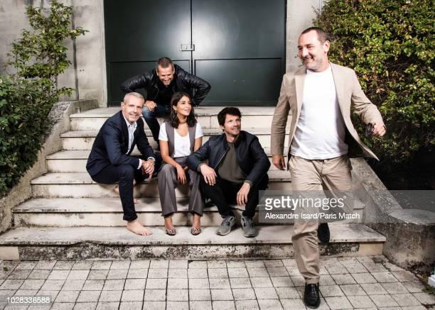 Actors Lambert Wilson Guillaume Canet Leila Bekhti Gilles Lellouche and Pierre Deladonchamps are photographed at the 11th Francophone Film Festival...