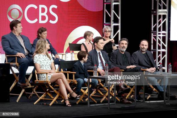 Actors Lance Barber Montana Jordan Raegan Revord Annie Potts actors Zoe Perry Iain Armitage executive producer/narrator Jim Parsons and executive...