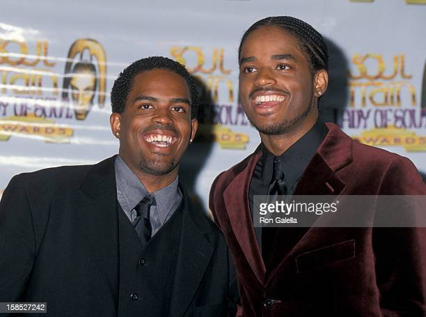 Actors Larenz Tate and Larron Tate attending Sixth Annual Lady of Soul Awards on September 2 2000 at the Santa Monica Civic Auditorium in Santa...
